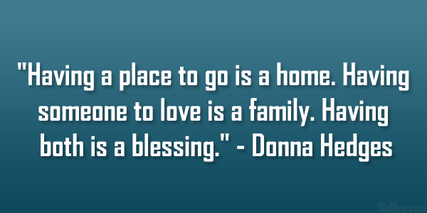 Donna Hedges Quote