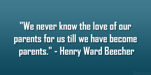 Henry Ward Beecher Quote