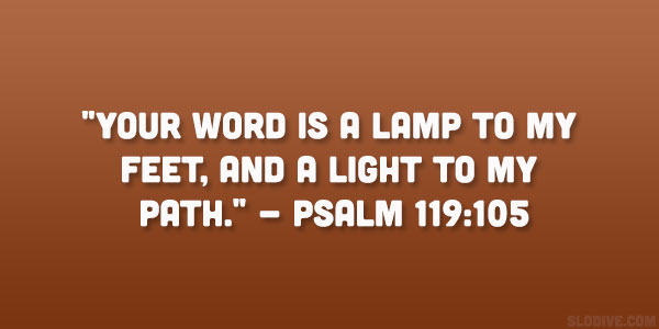 Psalm 119:105 Quote