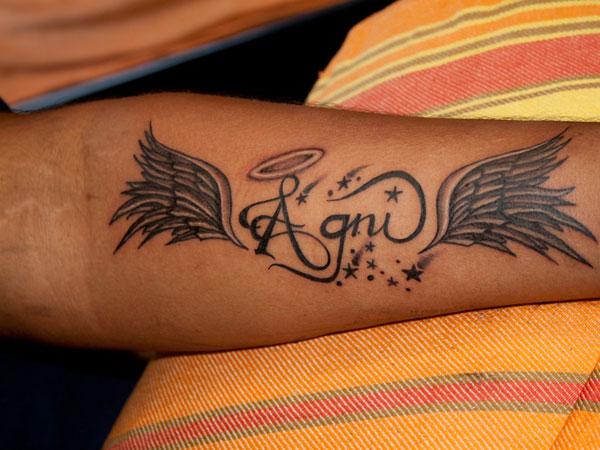 Forehand Tattoo
