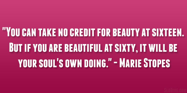 Marie Stopes Quote