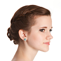 27 Delicate Braided Updo Hairstyles