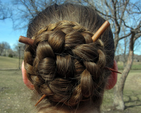 Braided Symmetry Braids Traditional Hairstyle Updo
