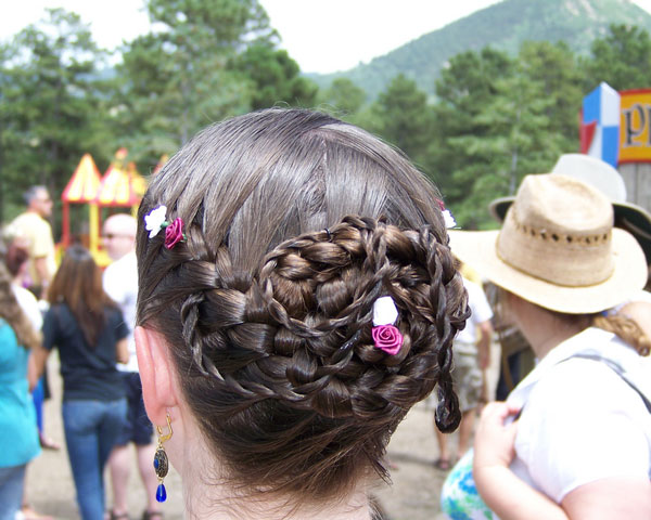 Braids Coiled Hairstyle