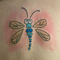 24 Ideal Dragonfly Tattoo For 2013