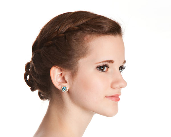 French Elegant Hairstyle