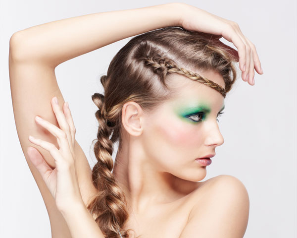 French Snake Braid Style