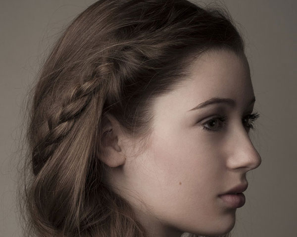 Sweet Side Braided Hairstyle