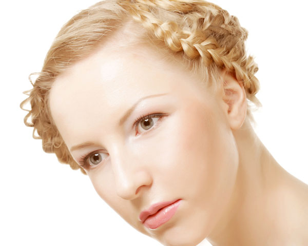 Many Braids Hairstyle