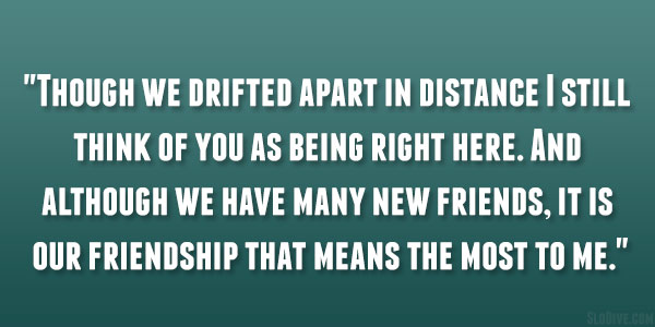 Quotes About Close Friendship Bonds Impressive 24 Powerful Long Distance Friendship Quotes