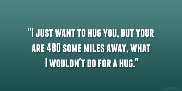 Want To Hug