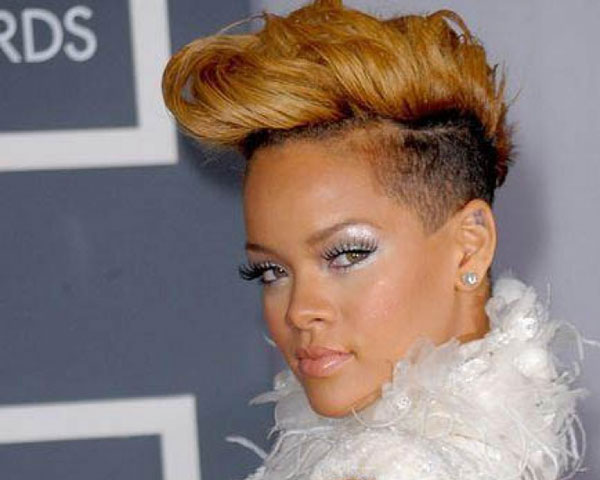 gloden 22 Fascinating Mohawk Hairstyles For Black Women