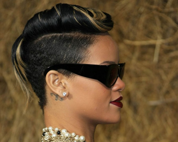 Swell 22 Fascinating Mohawk Hairstyles For Black Women Short Hairstyles For Black Women Fulllsitofus