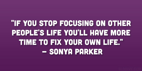 Sonya Parker Quote