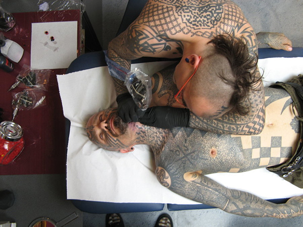 Pink Tattooing Xed
