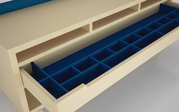 Drawers In Storage Bench