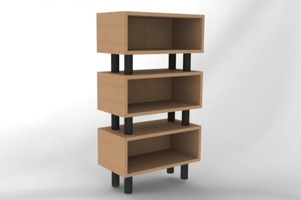 Stacked Compartments