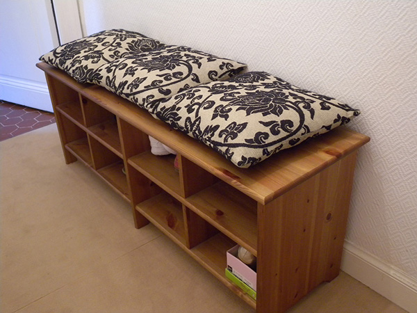 Shoe Storage Bench Idea