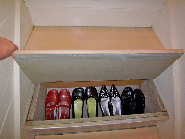 Stairs Shoe Storage