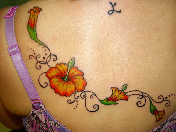 hibiscus 26 Cool Tattoo Ideas For Moms