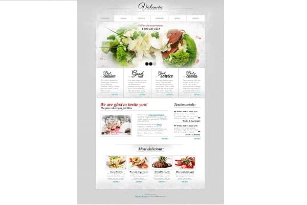 Menu1 5 Free HTML5 Templates that Are Fresh and Responsive