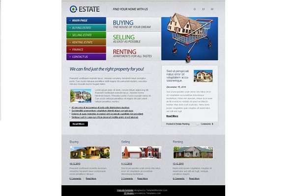 Vibrant and Colorful Real Estate