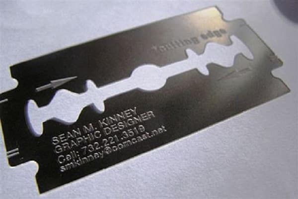 Razor Blade Business Card1