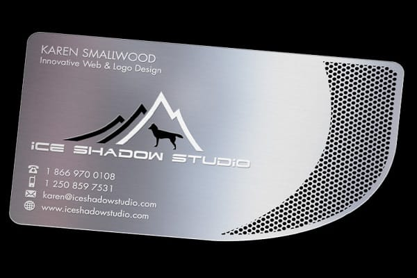Rounded Edge Business Card