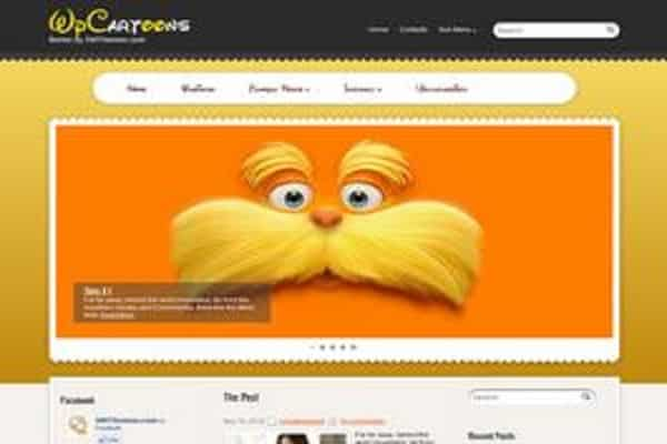 WP Cartoons WordPress Theme