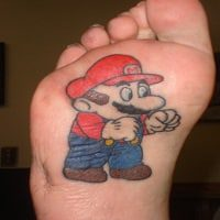 8 Cool Examples of Bottom of the Foot Tattoos