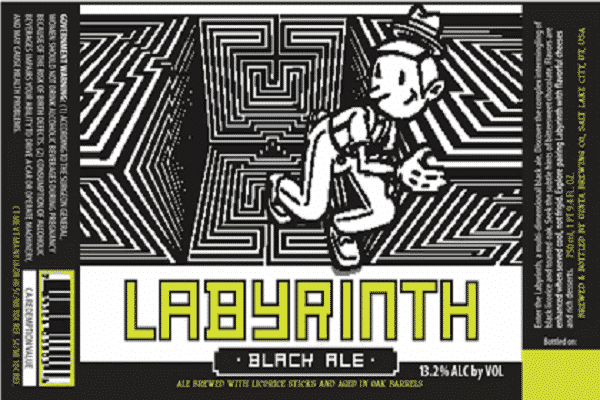 Uinta Labyrinth Black Ale