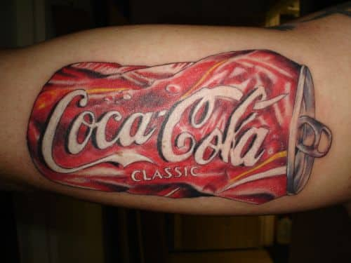 coke tattoo designs