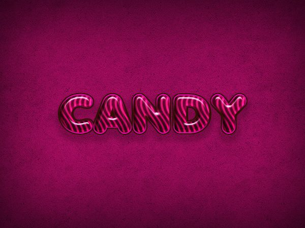 candy text
