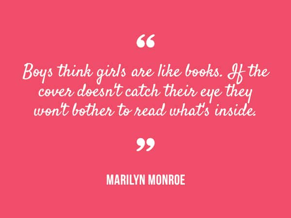marilyn monroe quote 9 Inspiring Quotes For 2014