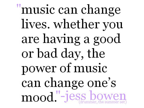 music quote 9 Inspiring Quotes For 2014