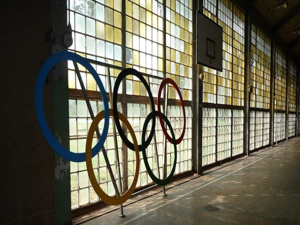 Abandoned Olympic Rings