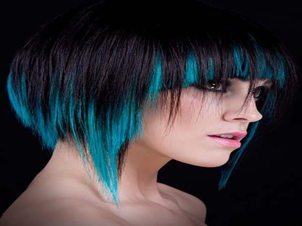 Blue Hairstyles 1