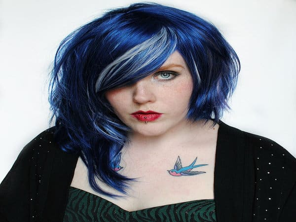 Blue Hairstyles 10