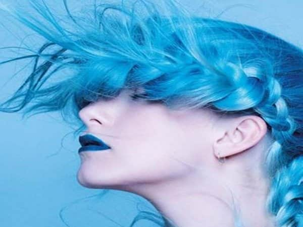 Blue Hairstyles 12