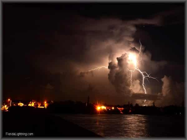Lightning in Florida