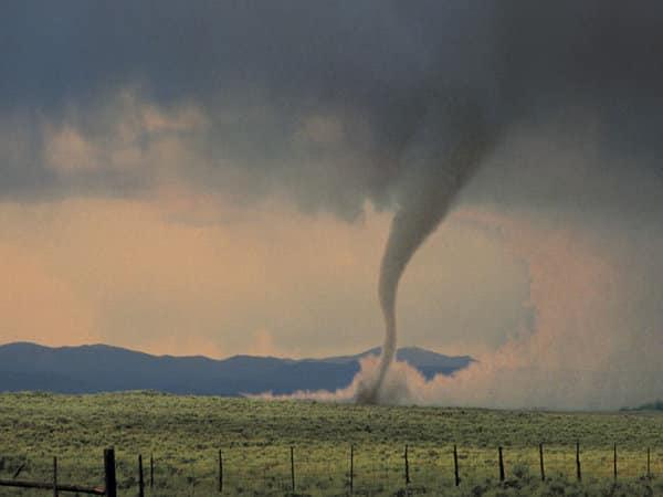 Tornado in a Field