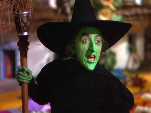 The Wicked Witch from Wizard of Oz