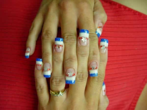 4th of July Nails 10