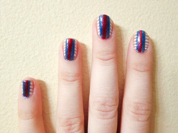 4th of July Nails 11