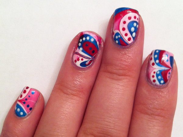 4th of July Nails 12