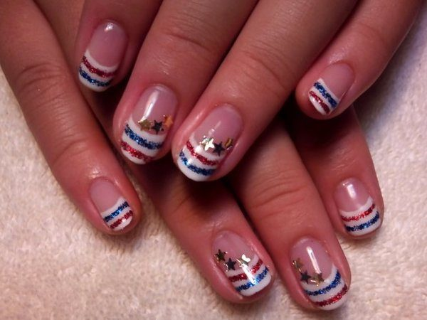 4th of July Nails 2