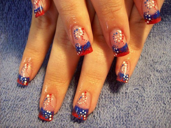 4th of July Nails 3