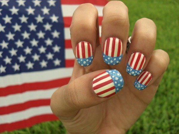 4th of July Nails 7