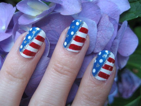 4th of July Nails 9