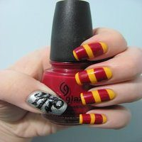 14 Magical Harry Potter Nail Designs